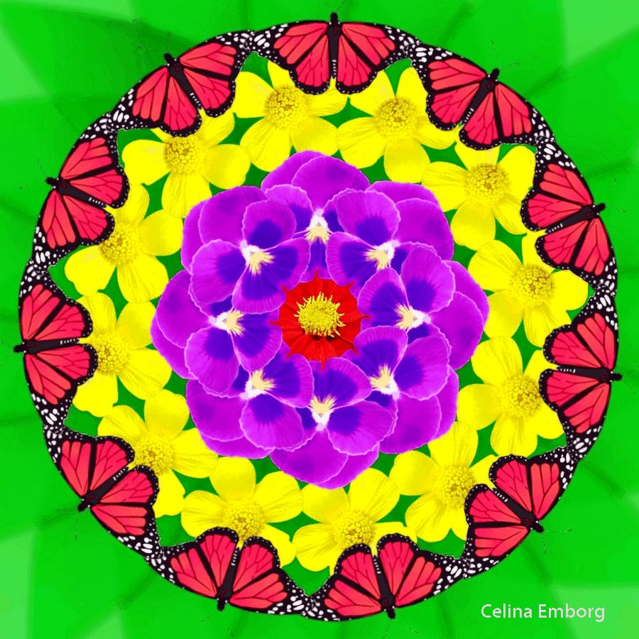 Mandalas De Flores Para Imprimir Celina Emborg