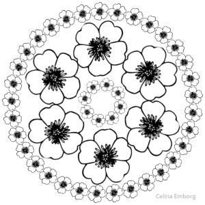 mandala floral