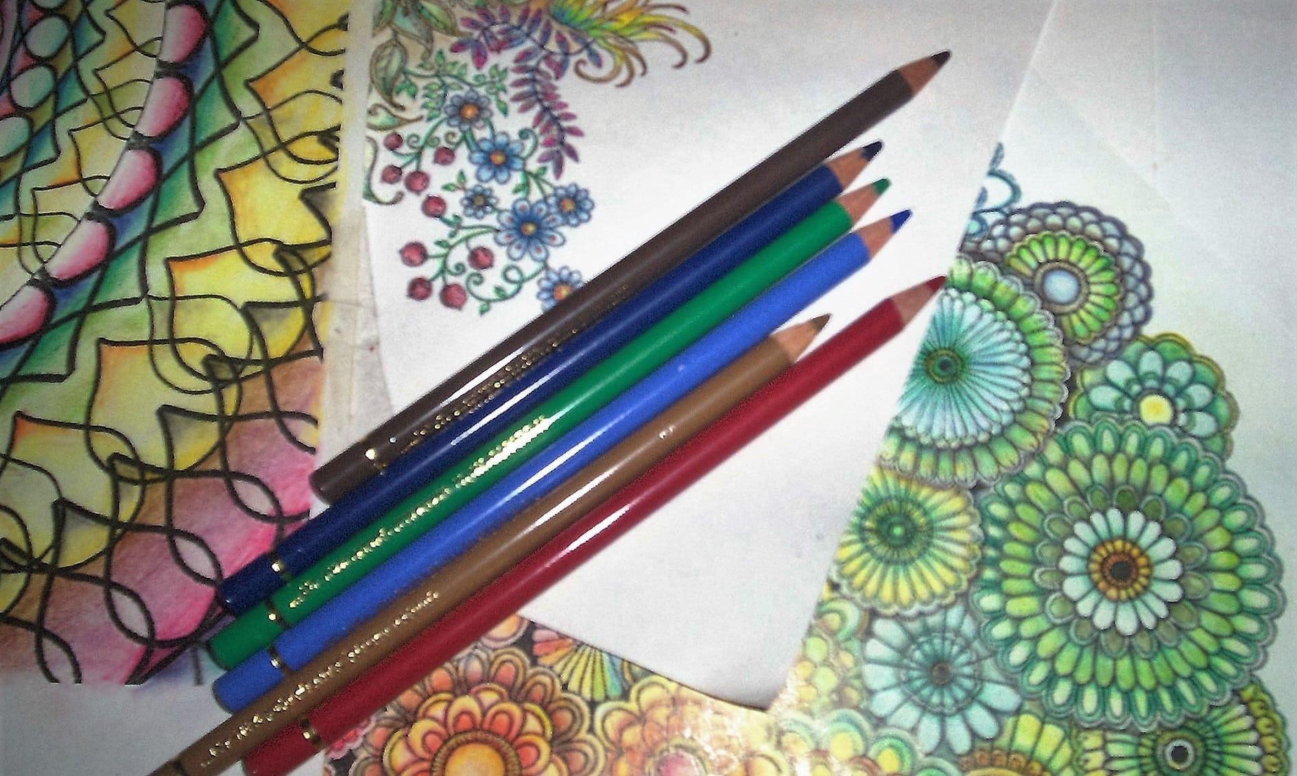 Bonito Colorear Lápices De Colores Ornamento - Dibujos Para Colorear ...