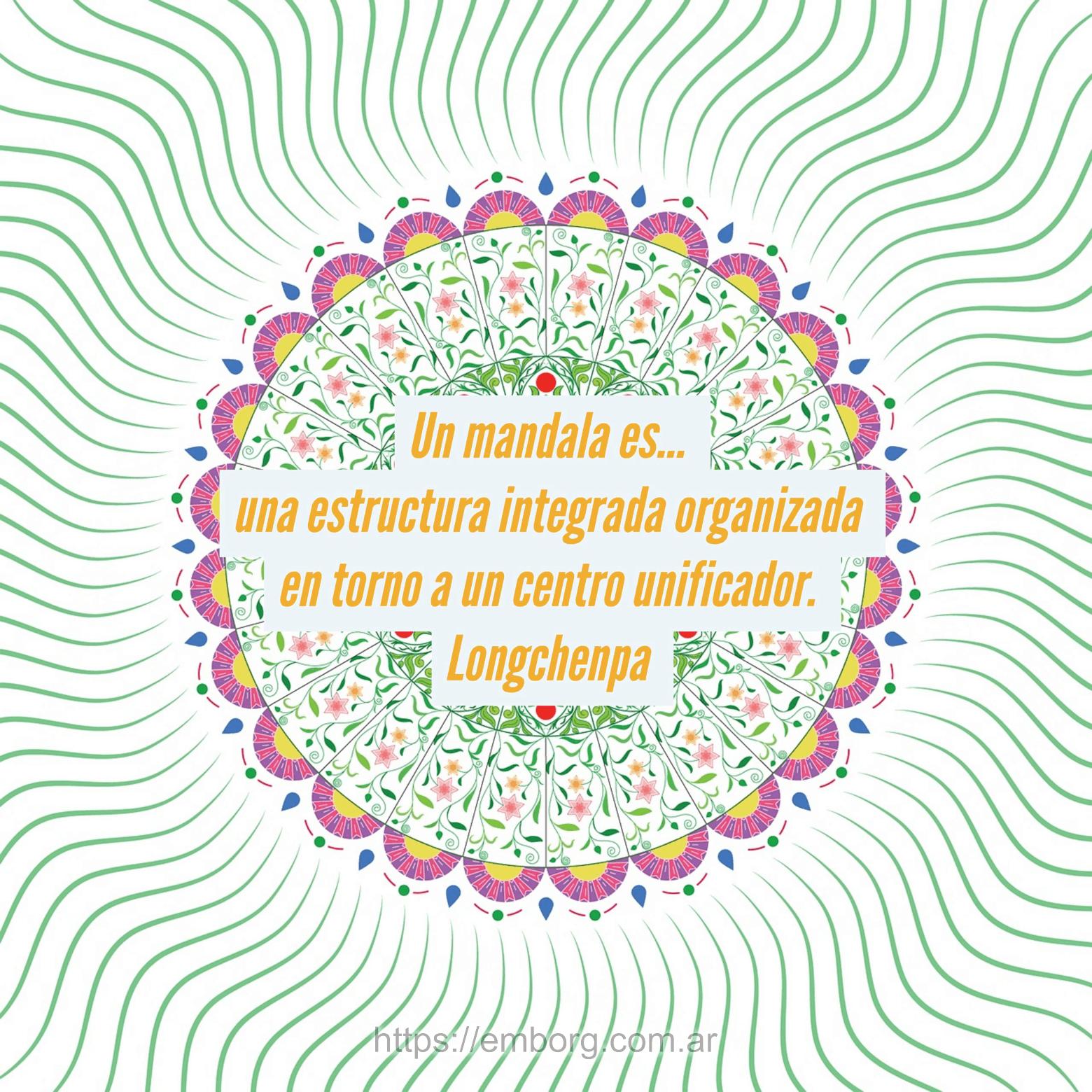 10 Frases Sobre Mandalas Celina Emborg