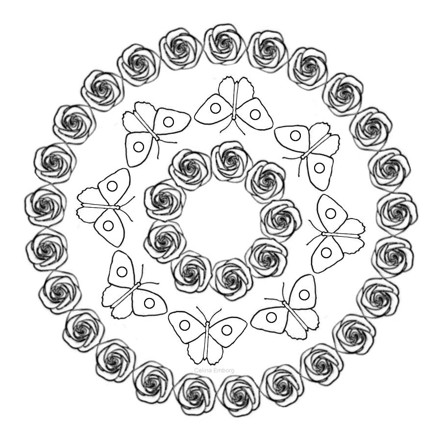 mandala-con-flores-y-mariposas1