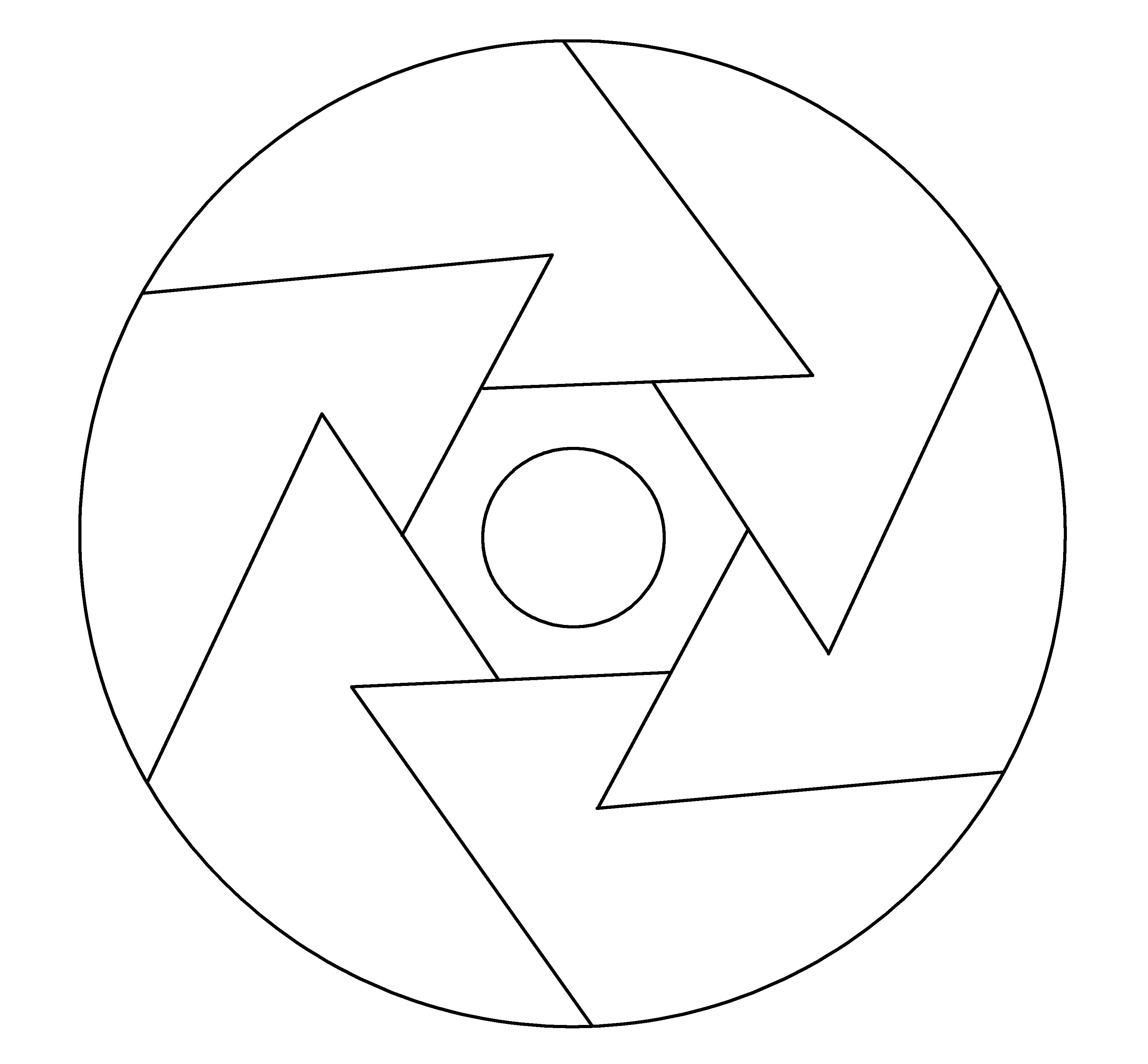 10 mandalas f ciles celina emborg for Comedor facil de dibujar