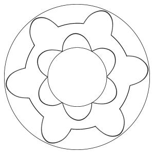 mandala-simple