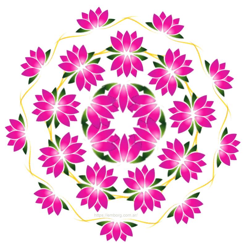 La Flor De Loto En Los Mandalas Celina Emborg