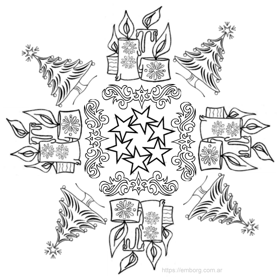 mandala-de-navidad-para-imprimir