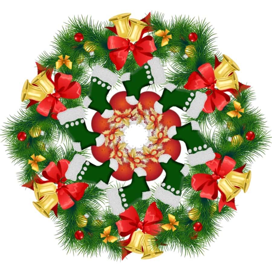 7 Mandalas de Navidad - Celina Emborg
