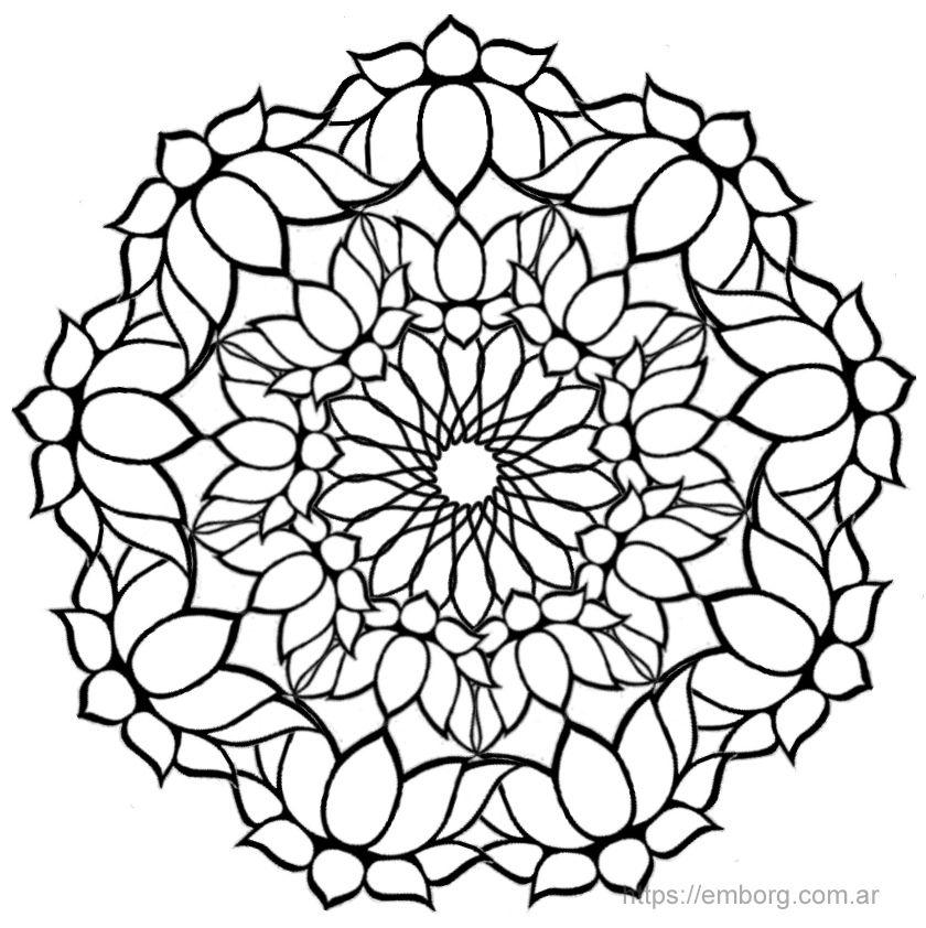 La Flor de Loto en los mandalas - Celina Emborg