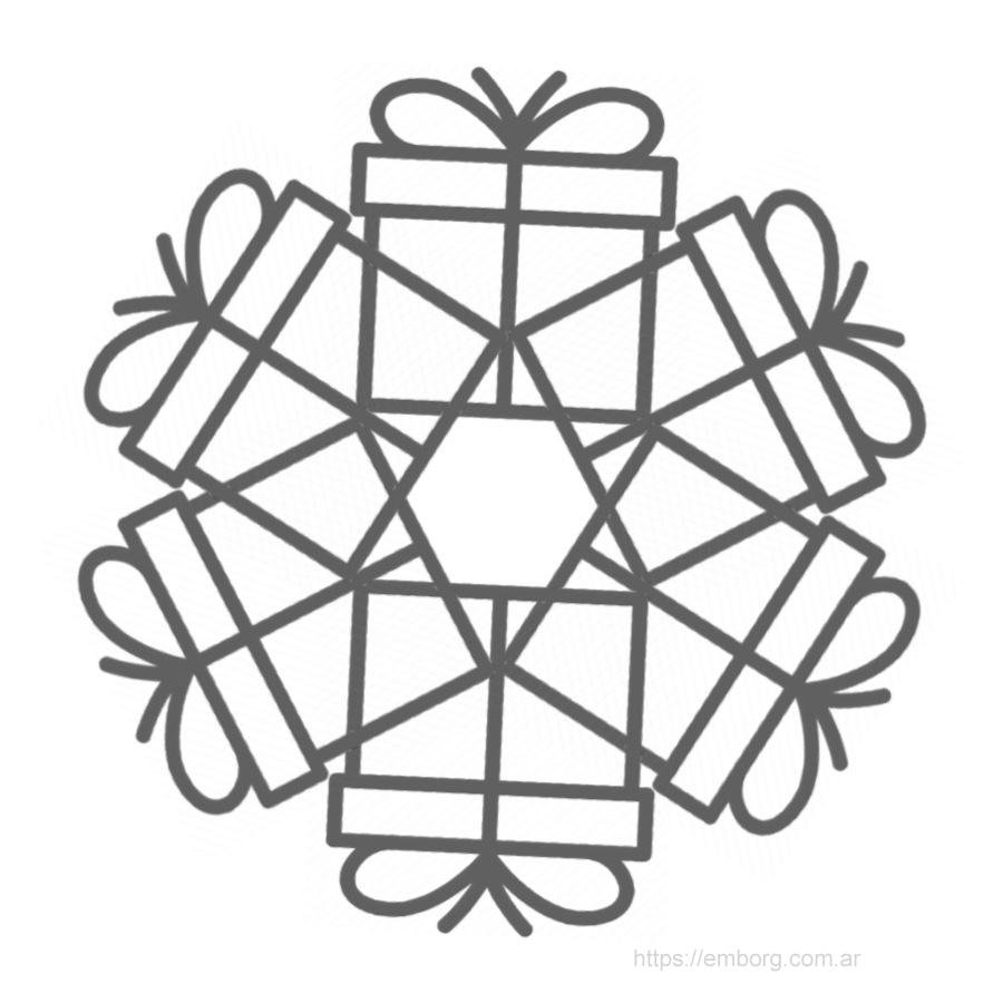 mandala-navideno-regalos