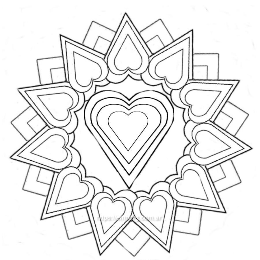 Mandala del amor - Celina Emborg