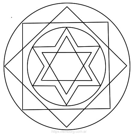 Mandala de la abundancia y prosperidad - Celina Emborg