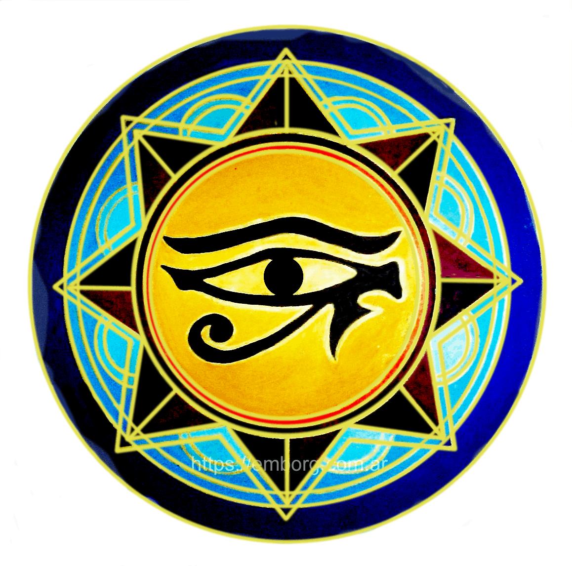 El Ojo De Horus Mandala Celina Emborg